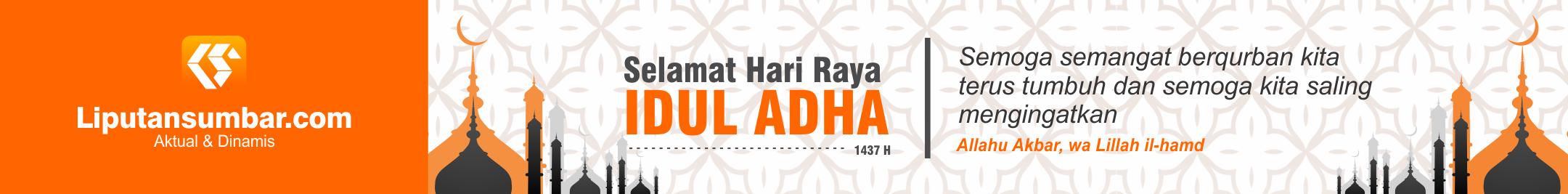 Banner Idul Adha Liputan Sumbar